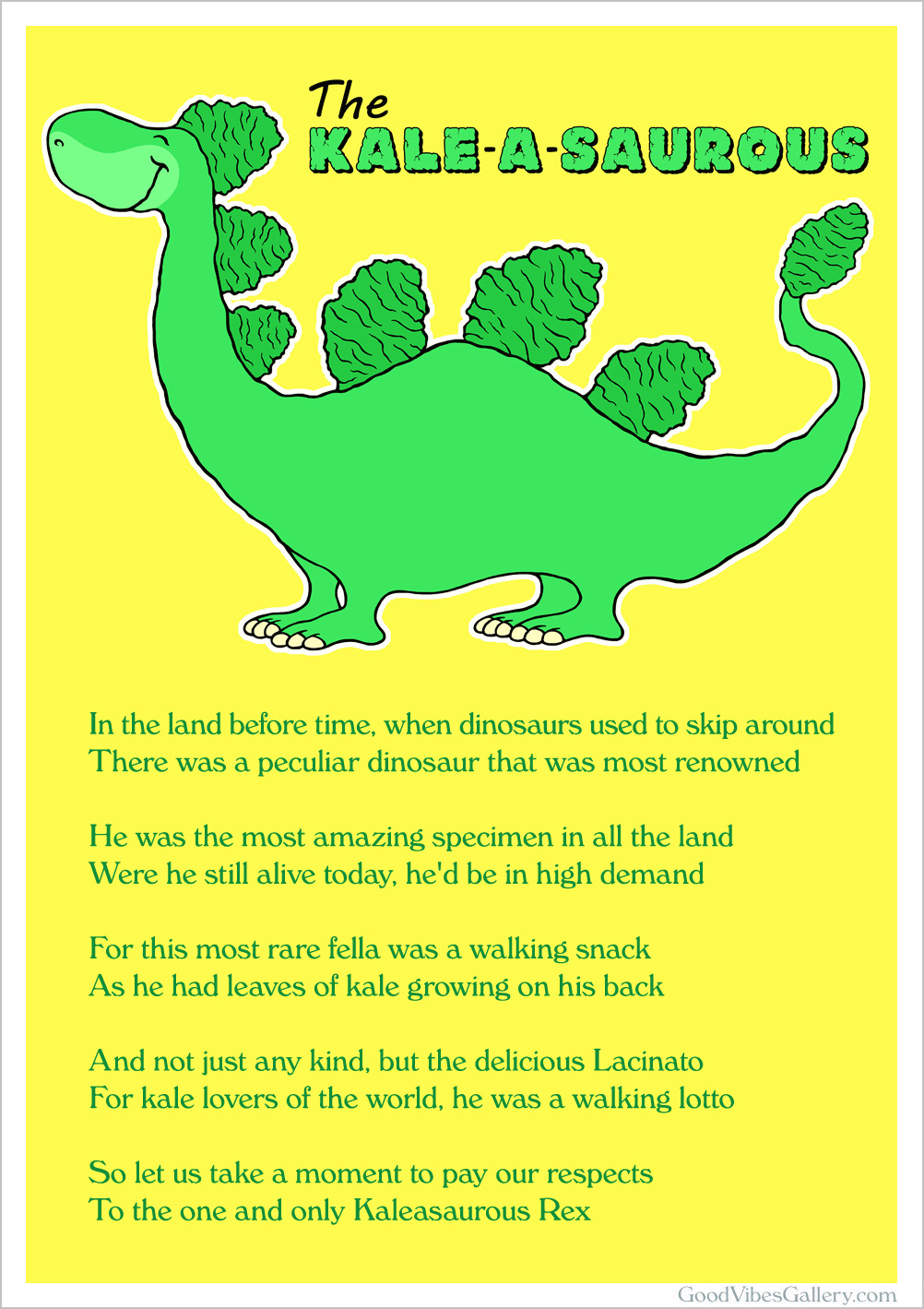 Dinosaur Poems 6