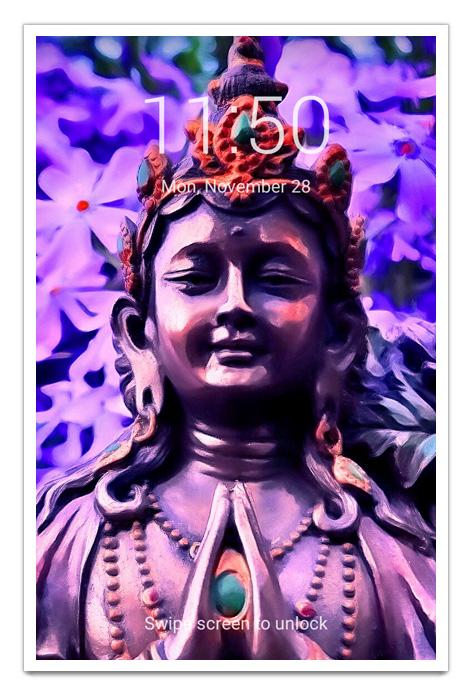buddha-art-paintings-photos-statues-zen-garden-tao-art-nature-photography-fine-art-print-poster-buddhism-buddha-in-the-garden-purple-paradise-good-vibes-gallery-goodvibesgallery