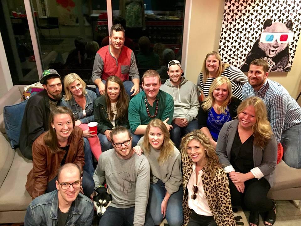 Partial Minnesota Creative Professionals Crew!