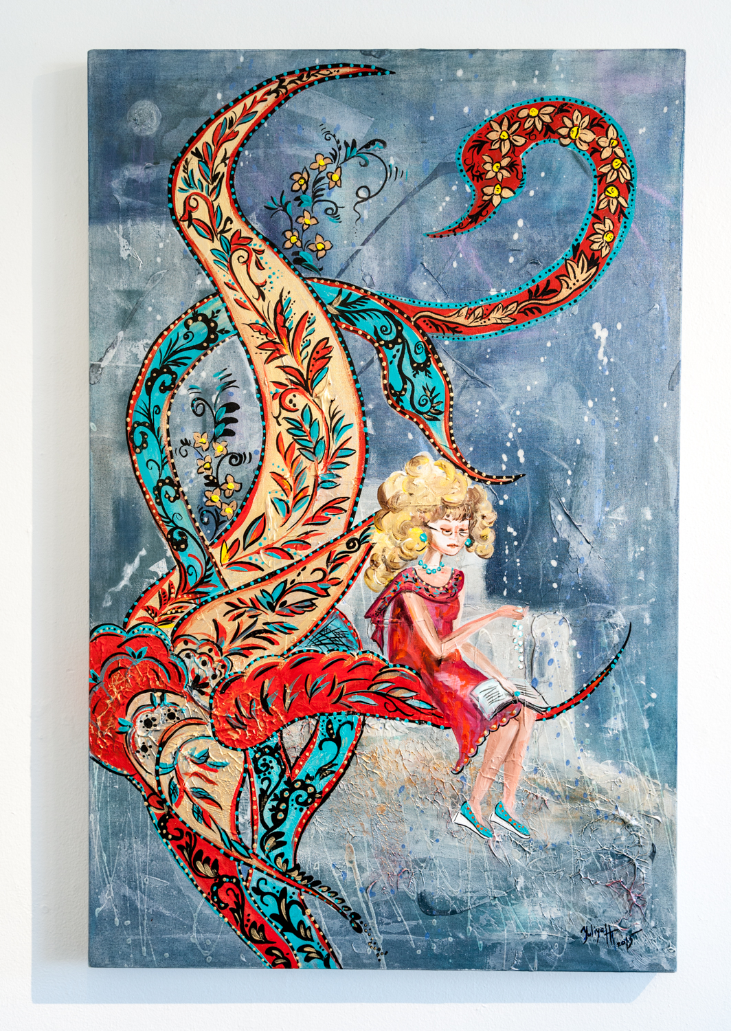 Yuliya Helgesen-Thompson      Intricate Tapestry