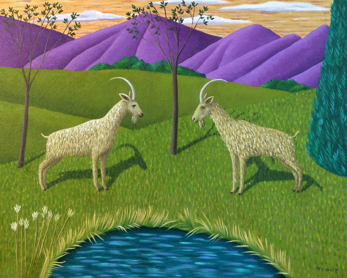 Two Goats   Jane Troup