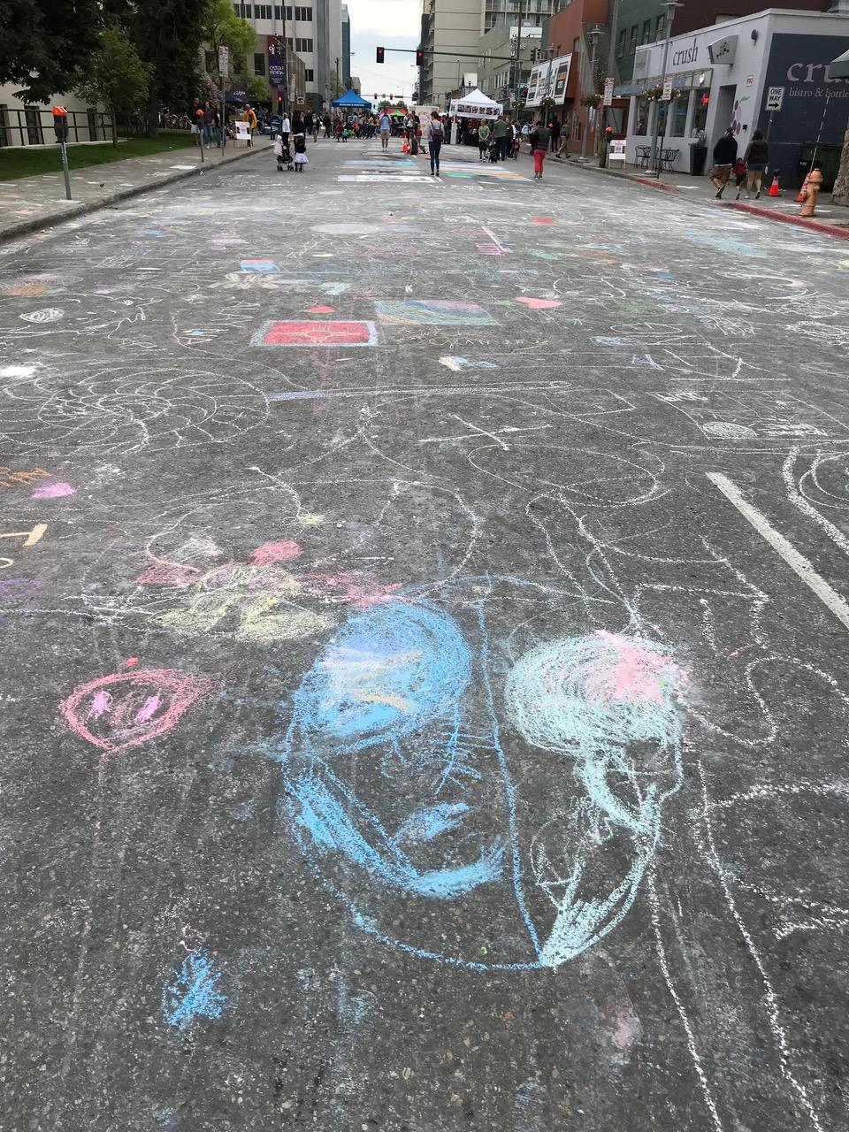 Chalk Battlefield