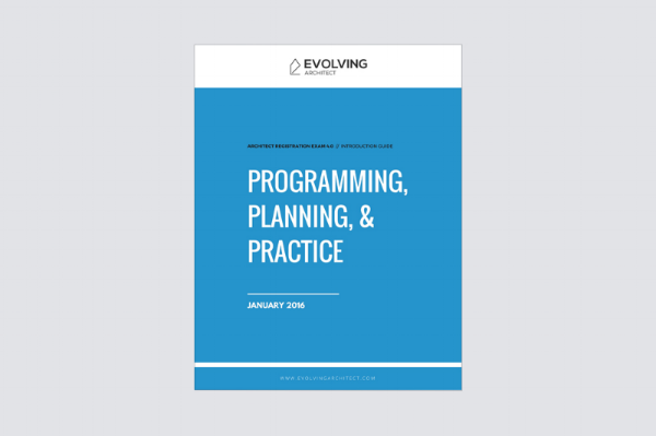 """Evolving Architect // """"Intro to the A.R.E. / Programming Planning & Practice"""""""