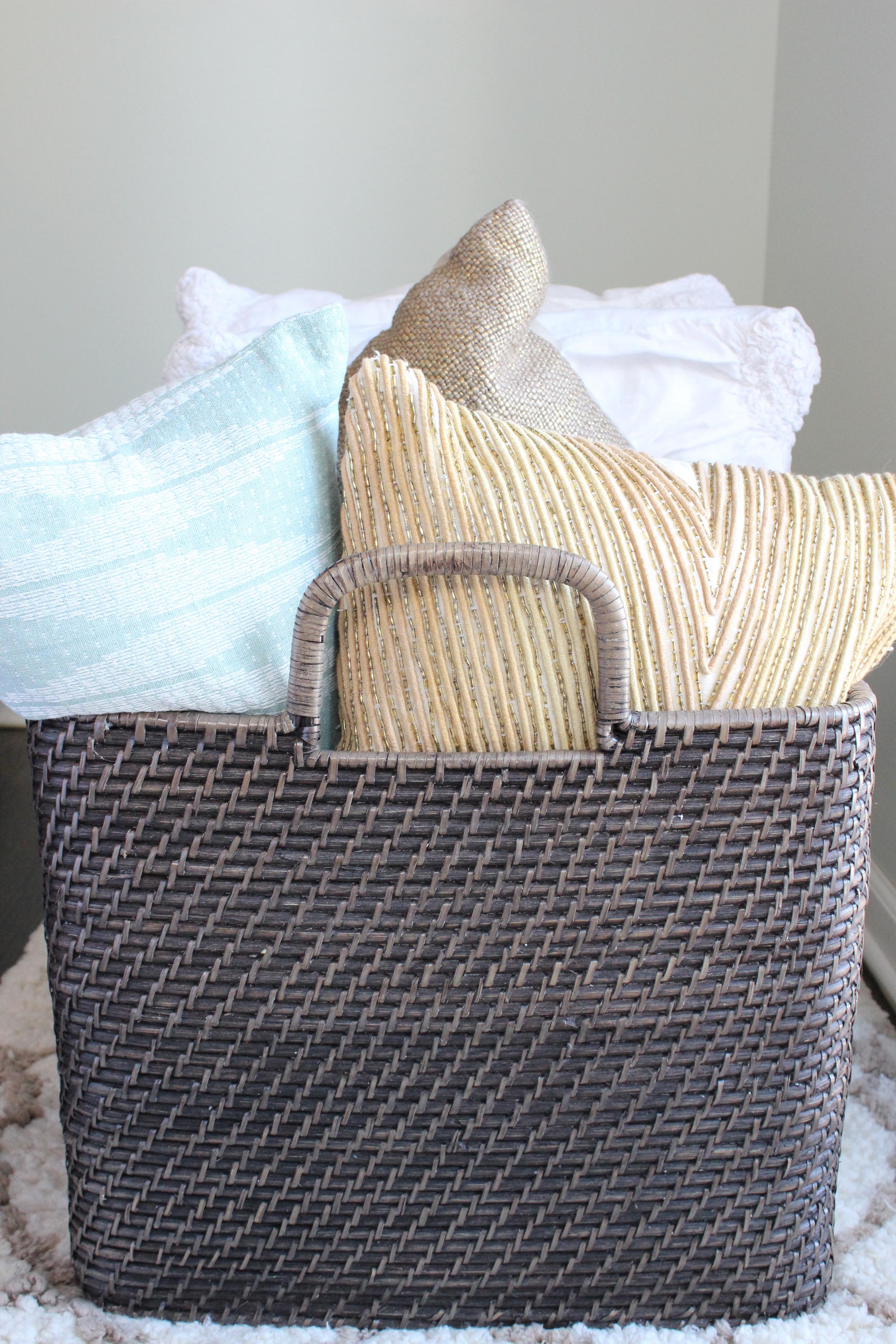 Pillow Basket -Sadie Road