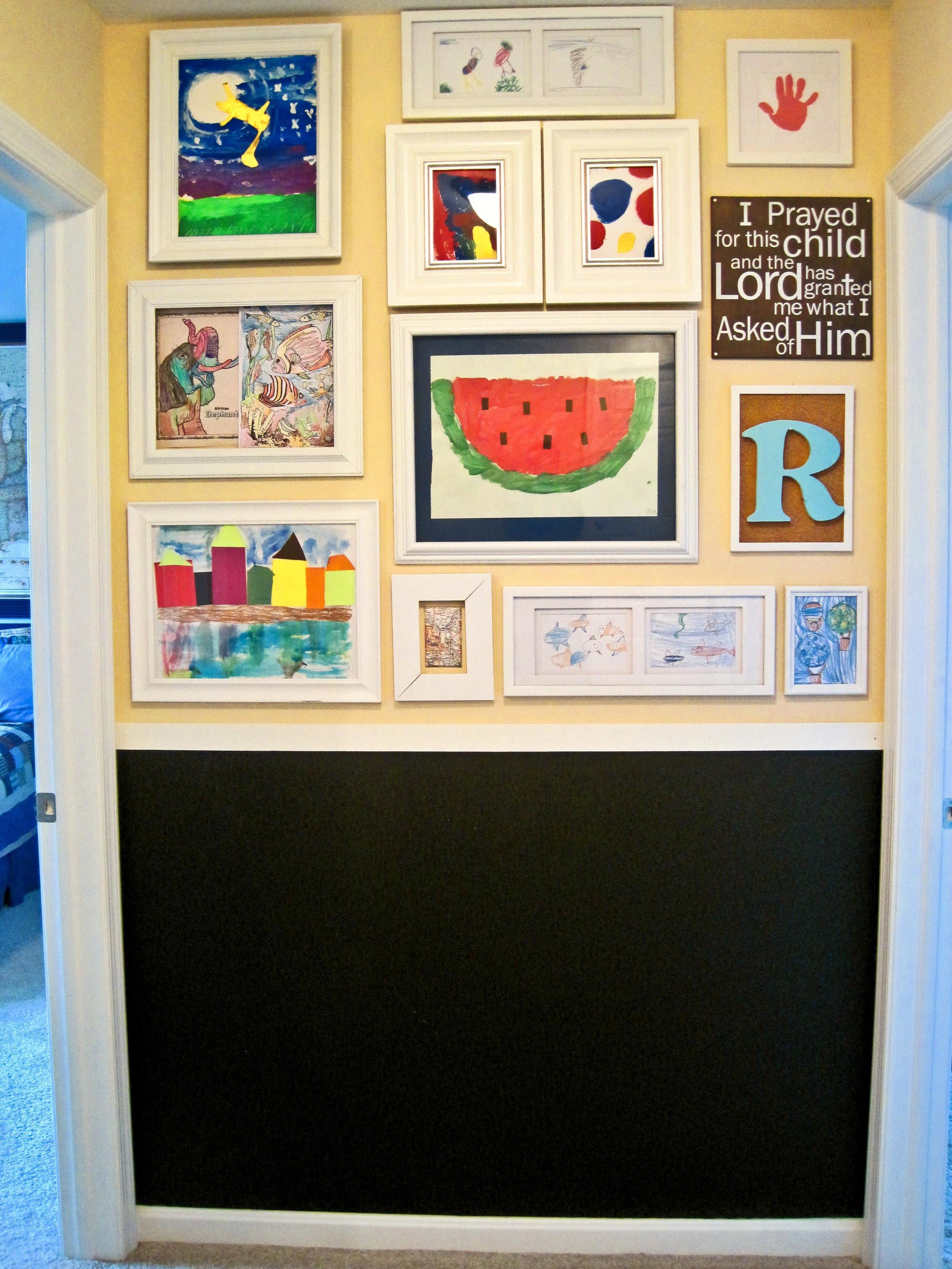Artwork gallery wall-Sadie Road