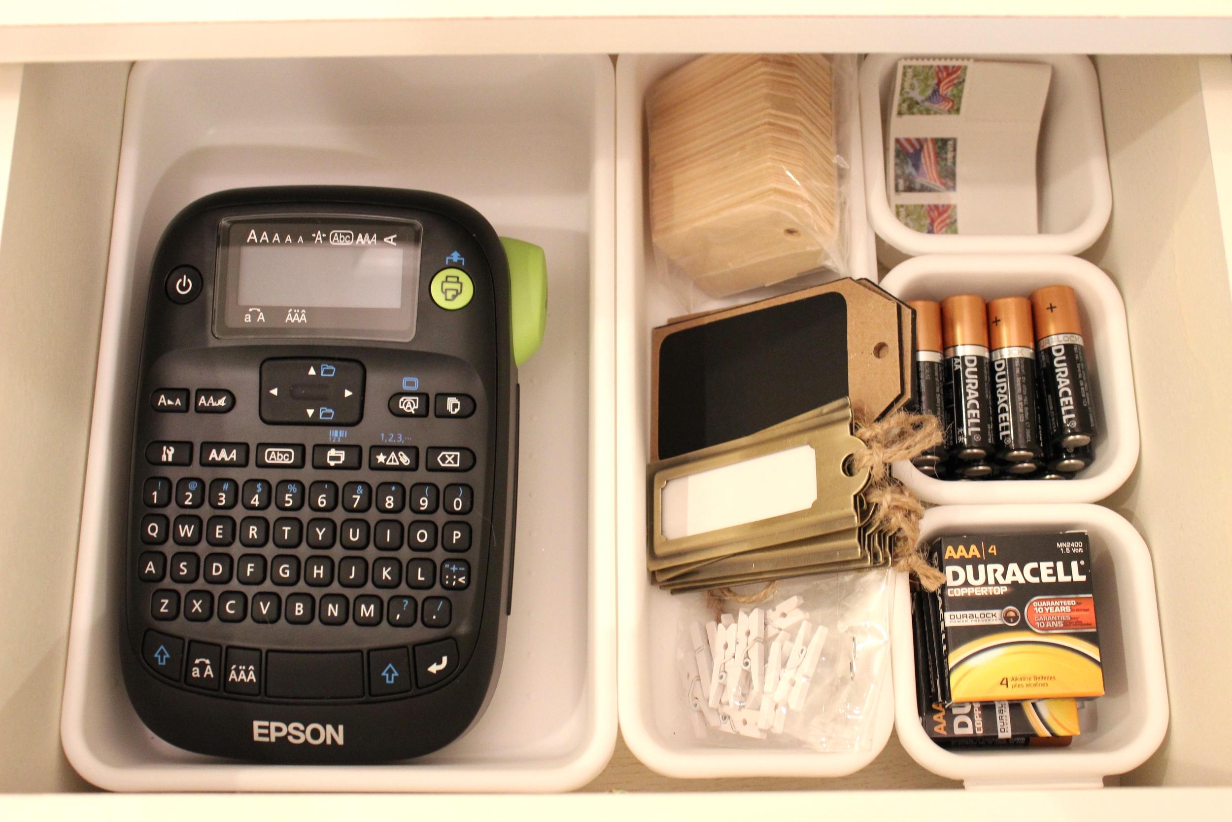 organized drawer- Sadie Road