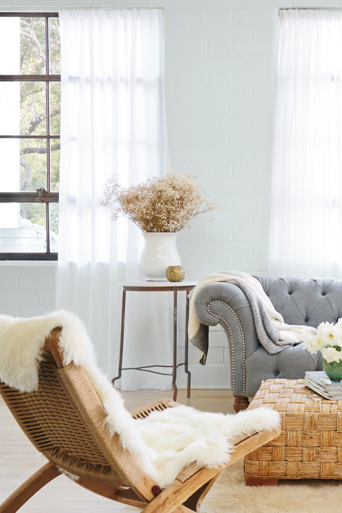 The new Quiet Comfort Collection from  HGTV HOME TM by Sherwin-Williams as shown on  Jillian Harris ' blog.