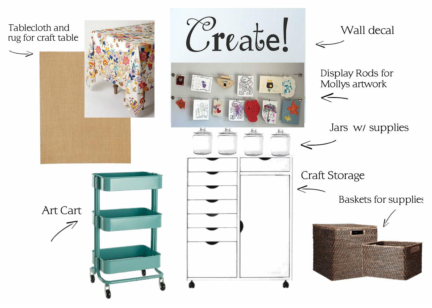 Craft Room Inspiration-Sadie Room