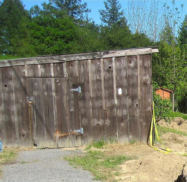 The old barn door