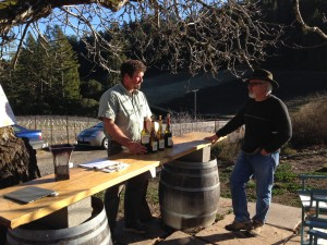 Wine Tasting at Porter-Bass Vineyard