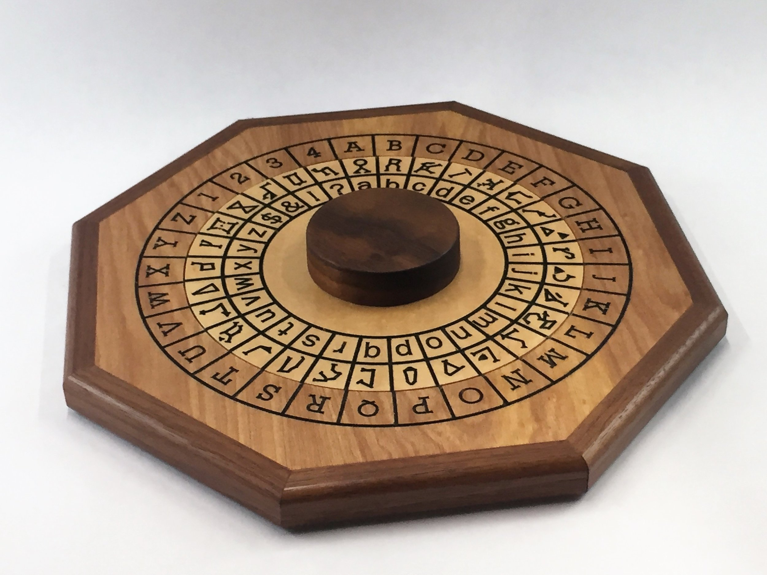 Cipher Wheel - Constellation - Maple - Flat.jpg