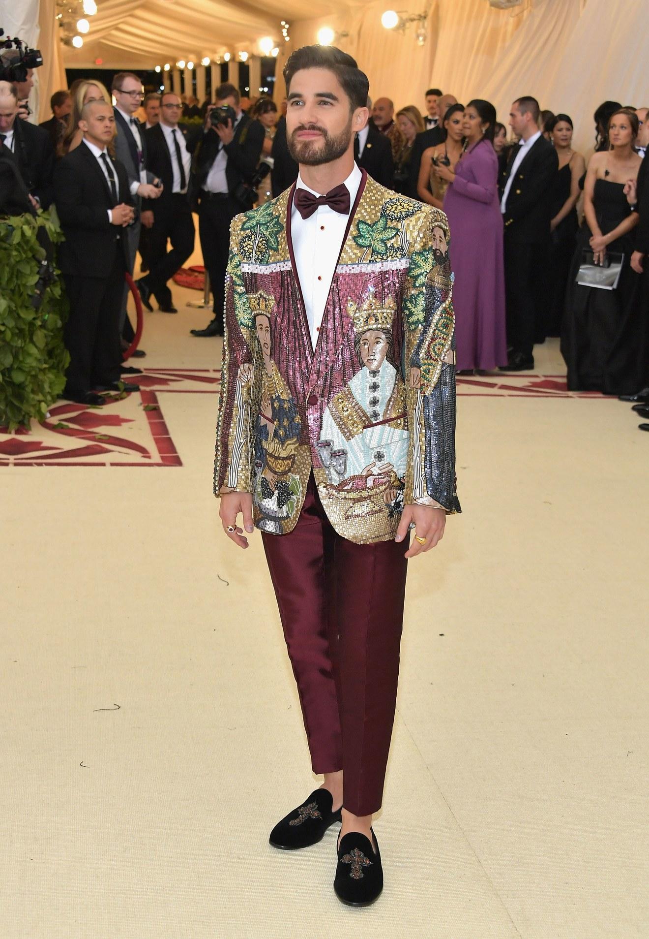 Darren Criss in  Dolce & Gabbana