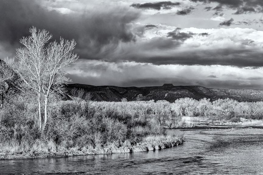 Chama River and Pedernal