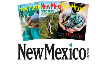 Read all about Carrizozo & the Gallery in New Mexico Magazine