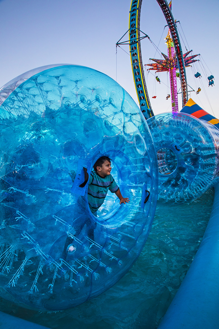 'NM State Fair Fun  ' ,   Honorable Mention Sense of Place, Scarlett Kettwich