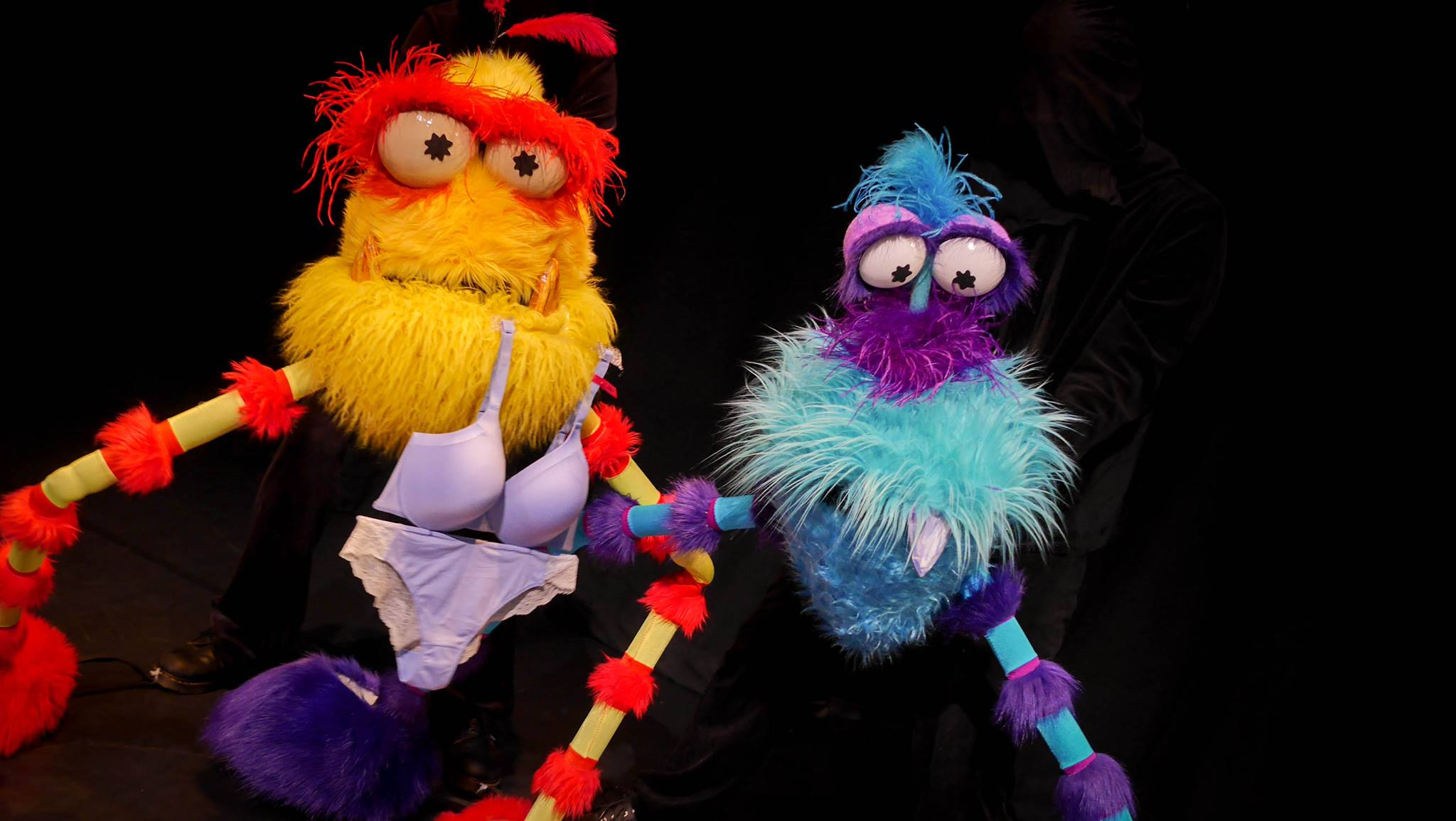 Photo by Shawn Patrick Higgins. Puppet Show by Bill Holznagel and Paul Velasquez