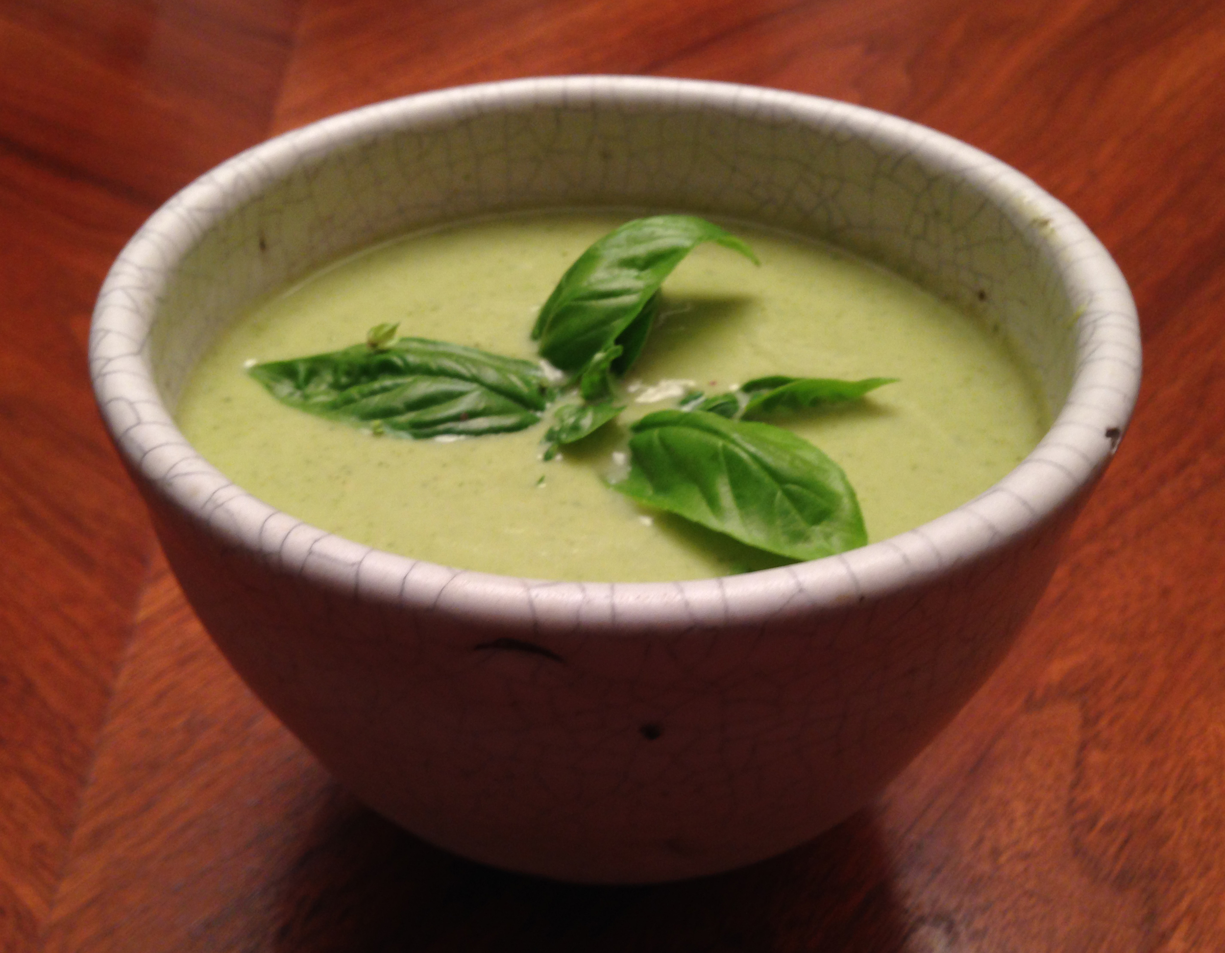 Thai Green Curry Broccoli Soup