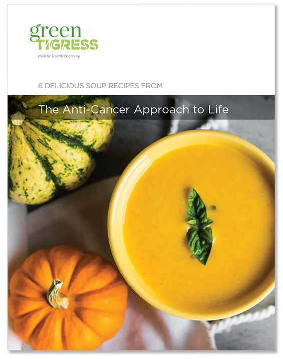 Soup recipes from the Anti-Cancer Approach to Life