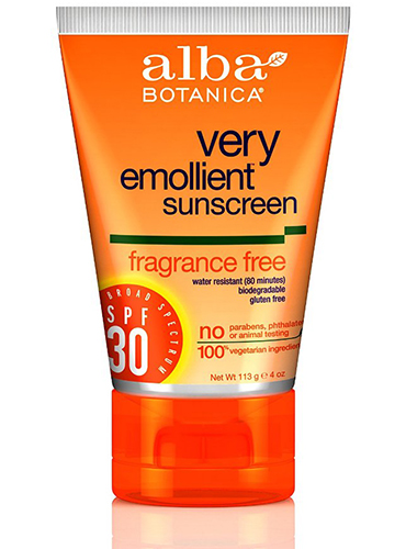 This is a good sunscreen when you are looking for something with less of the white zinc oxide but it also doesn't rate as well.