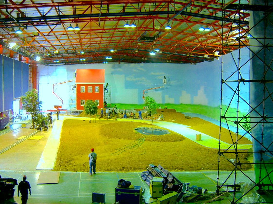 Production event venue
