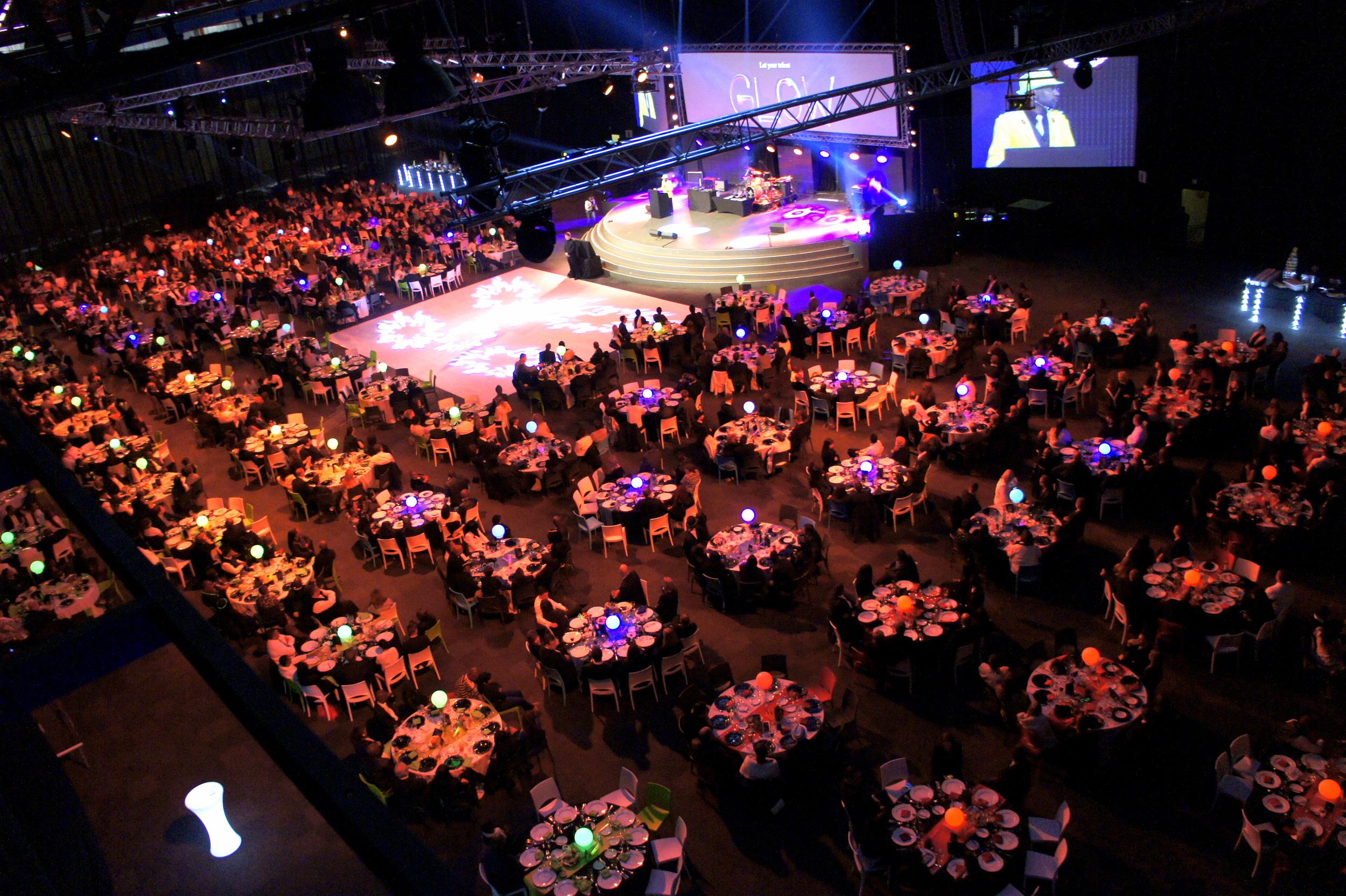 Showcase event venue
