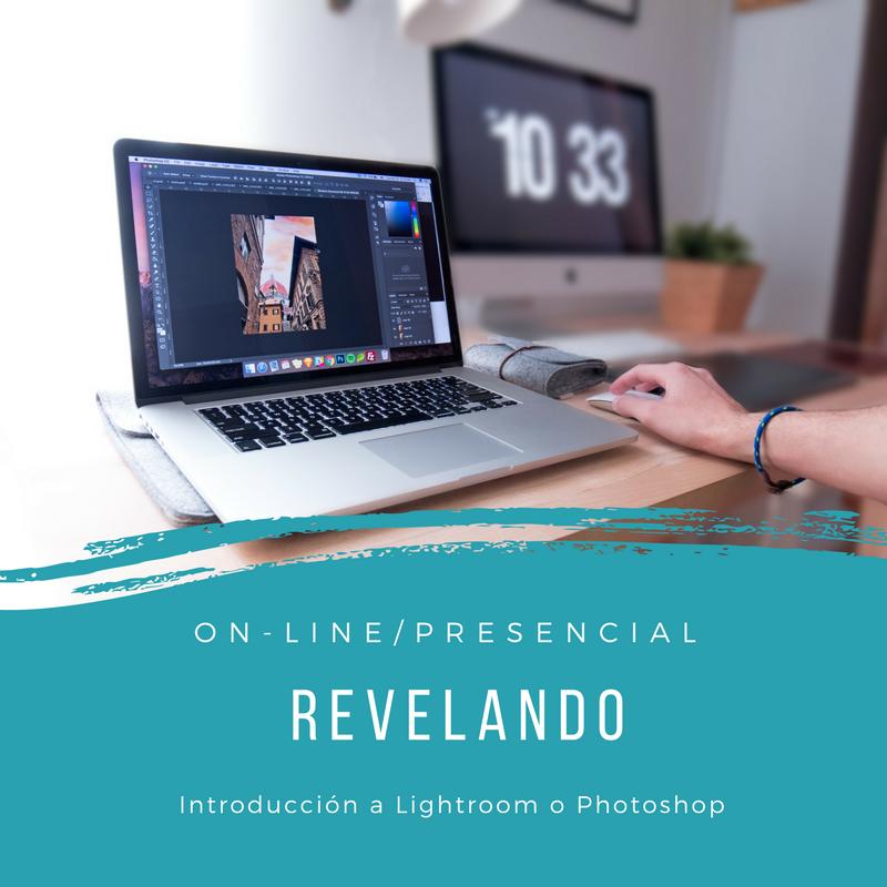 Introducción a Photoshop o Lightroom (Online o a domicilio) - Aprende a  revelar tus fotografías  digitales. Sácale mayor partido a tus fotos con este curso.