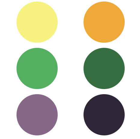 These colors represent the cosmos/space theme requested by the clients but they also represent the large amount of hops which is added during the brewing process of this double IPA.