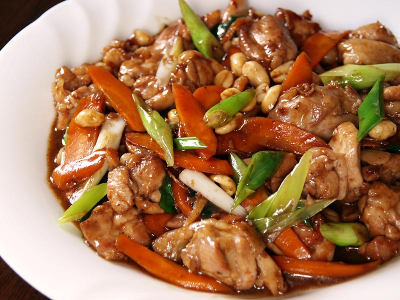 Spicy Diced Chicken (Kung Pao Chicken)