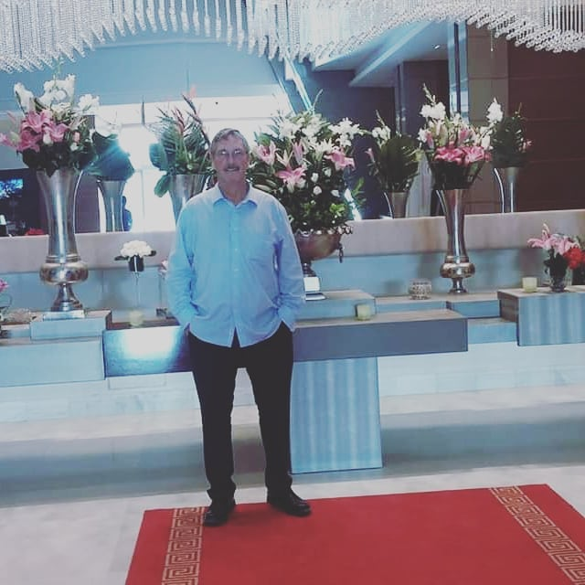"Happy Birthday to this man, our CEO and friend. We wish you health, success and of course partnerships, sponsors and money..😁🙌🙌🎂🎂 The photo was taken at the Laico Hotel, Tunis, attending a ""Business Card Exchange"" sponsored by the US Embassy and American Chamber of Commerce to promote economic exchange between the US and Tunisia #birthdayman #ceo #celebrate #usa #tunisia #sfax @dreamsnmotiontunisia @globalenglishgroup"