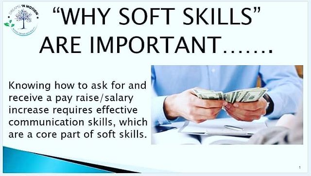 "Just a ""shout out"" in support of our upcoming soft skill course on 19 August, in Sfax Tunisia.  Many people, particularly outside the USA, do not understand the ""concept"" behind soft skills, so, we are going to post small tips regarding the value of soft skills on a regular basis.  Feel free to offer your own thoughts as well @dreamsnmotiontunisia #softskills #tips #success"