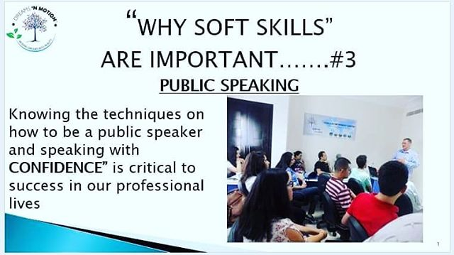 #DNMtips2 Hi everyone, how are all of you doing?  So for today, in support of our Soft Skill course which will begin on 19 August, I have introduced the skill of Public Speaking.  Please feel free to contact us. You can also find more information on our Dreams N Motion Tunisia Facebook page  https://www.facebook.com/DNM.TUN/ @dreamsnmotiontunisia
