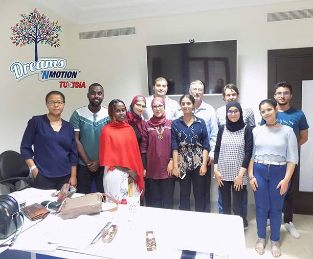 CONGRATULATIONS to all for successfully completing the 1st Dreams N Motion Tunisia Soft Skill course. We Really enjoyed meeting all of you and hope that some of the things we talked about in the course are helpful to you in your personal, business or academic life.  Again, this course and the skills we discussed are critical in today's environment #DNM #softskills #dreamsinmotion #DNMTunisia @dreamsnmotiontunisia