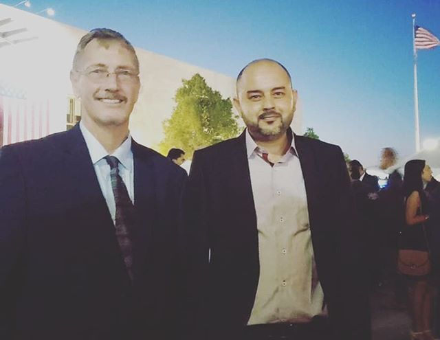 Had a great time at the US Embassy Tunis for a belated 4th of July celebration. Amine Jammoussi, our @dreamsnmotiontunisia manager and Richard Howard, our CEO were invited to attend this annual event to celebrate the American Independence Day.  They seem to have had some fun time and also met a lot of great people willing to make a positive change in Tunisia! Let's do it!! #fourthofjuly #indepenceday #usembassy