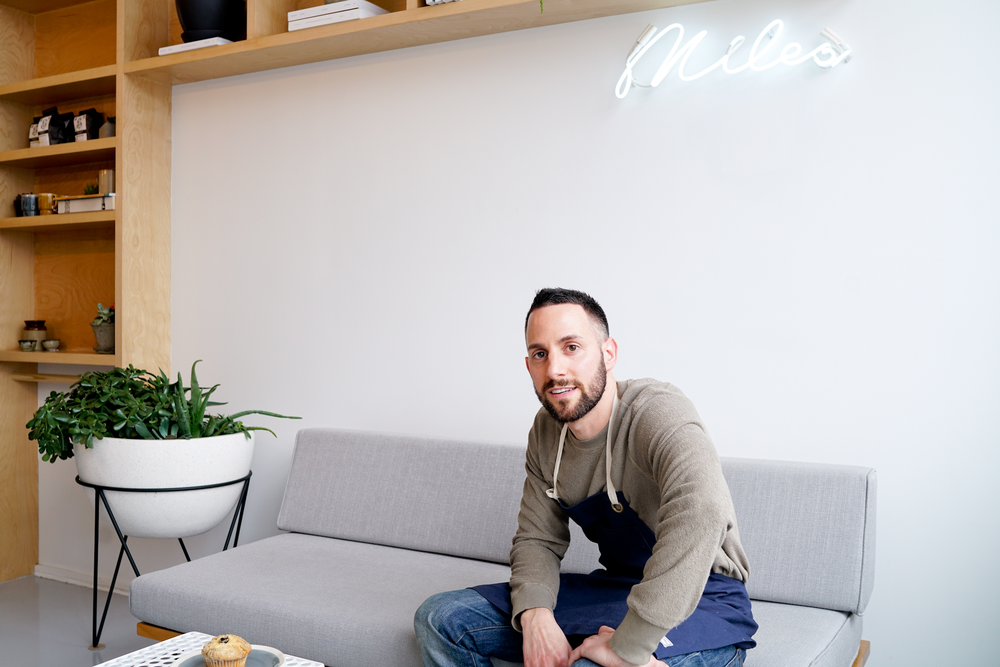 "The best part of this is the response from the neighborhood. I've always loved the Bronx and I have no interest in leaving the Bronx and I am glad I could bring something here people want."" - Mario D'Agostino, Owner, The Miles Coffee Bar."