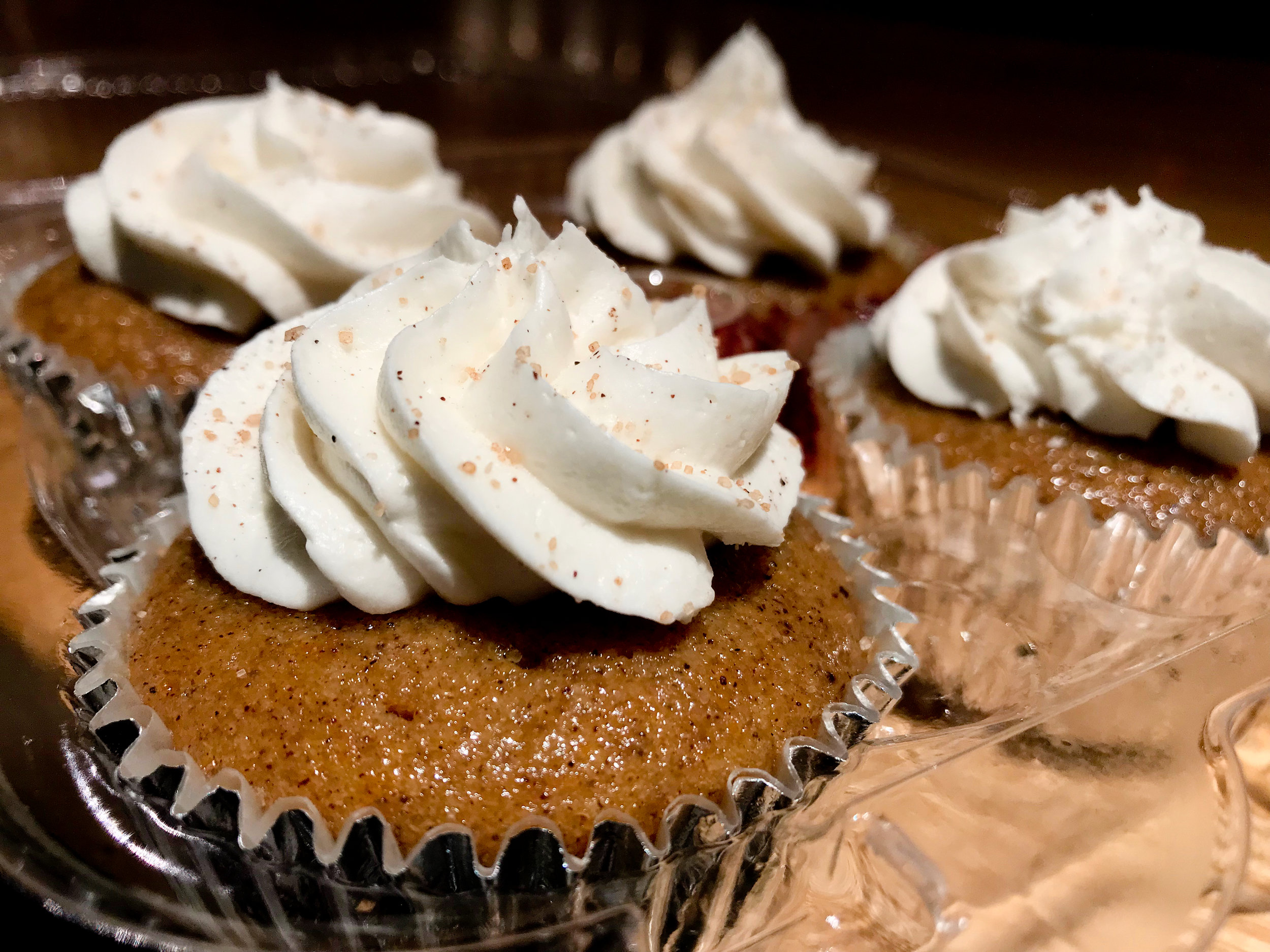 Sweet Potato Cupcake from the Uptown Vegan Sweets and Treats