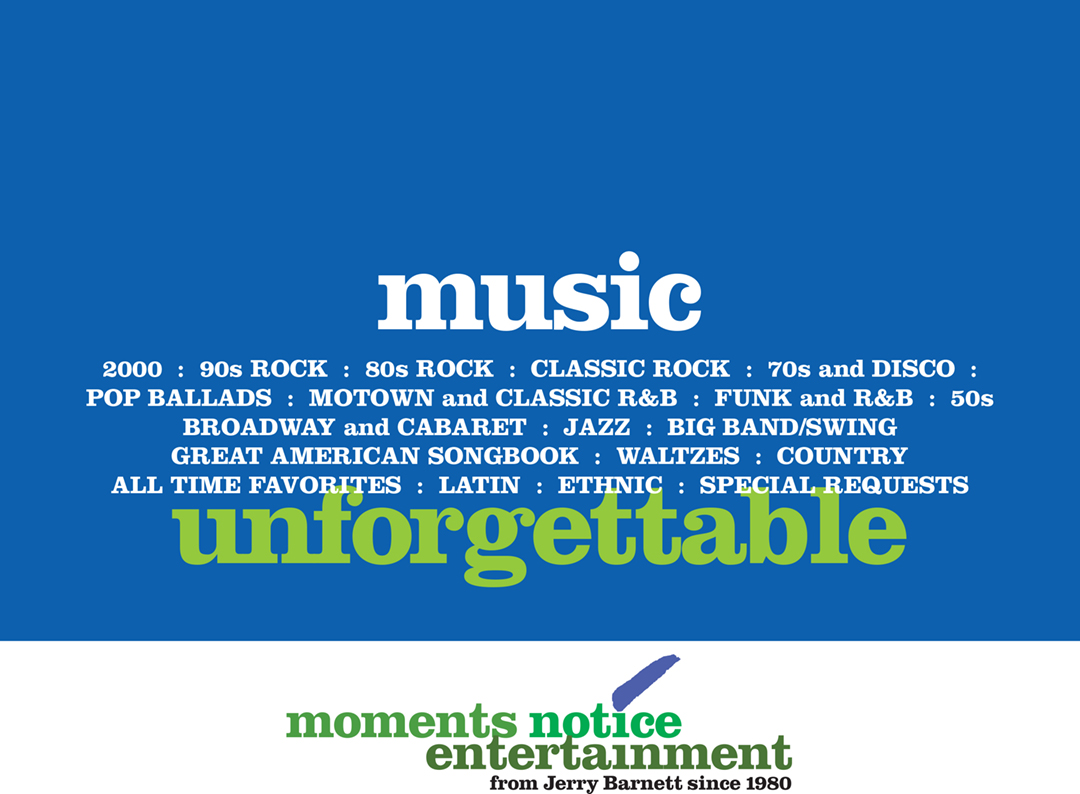 Download full list of music selections