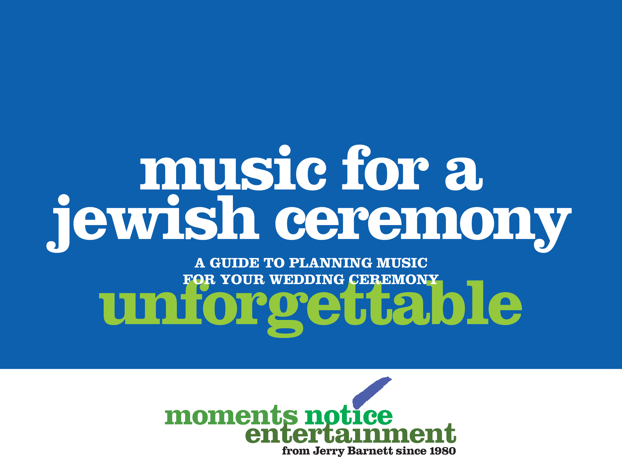 Download music selections for Jewish wedding