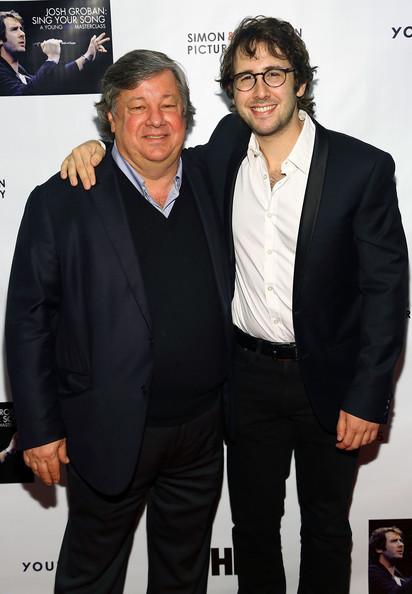 Kirk with Josh Groban
