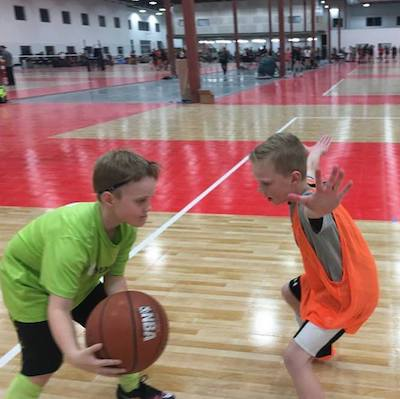 Multisport play and basketball training at MetaSport