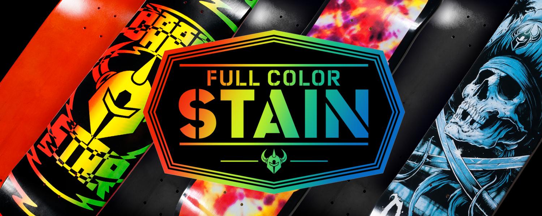 Darkstar Skateboards Color Stain Decks