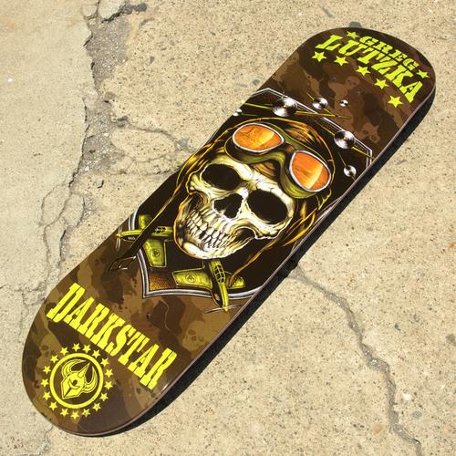 Darkstar Skateboards Combat Pro Series Greg Lutzka