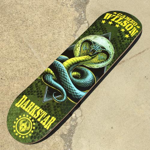 Darkstar Skateboards Combat Pro Series Cameo Wilson