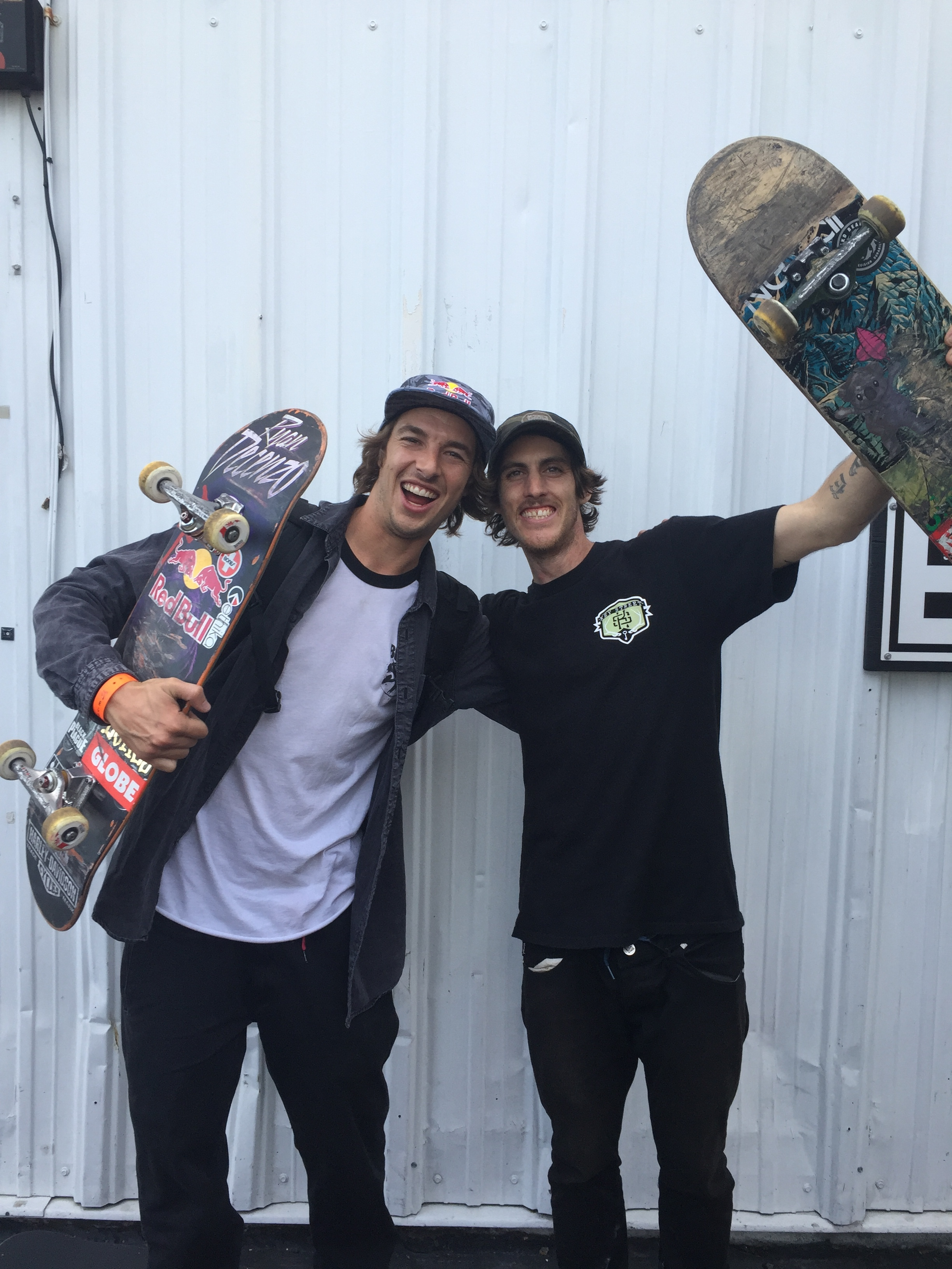 Ryan Decenzo and Dave Bachinsky Darkstar skateboards Tampa Pro 2017 street league