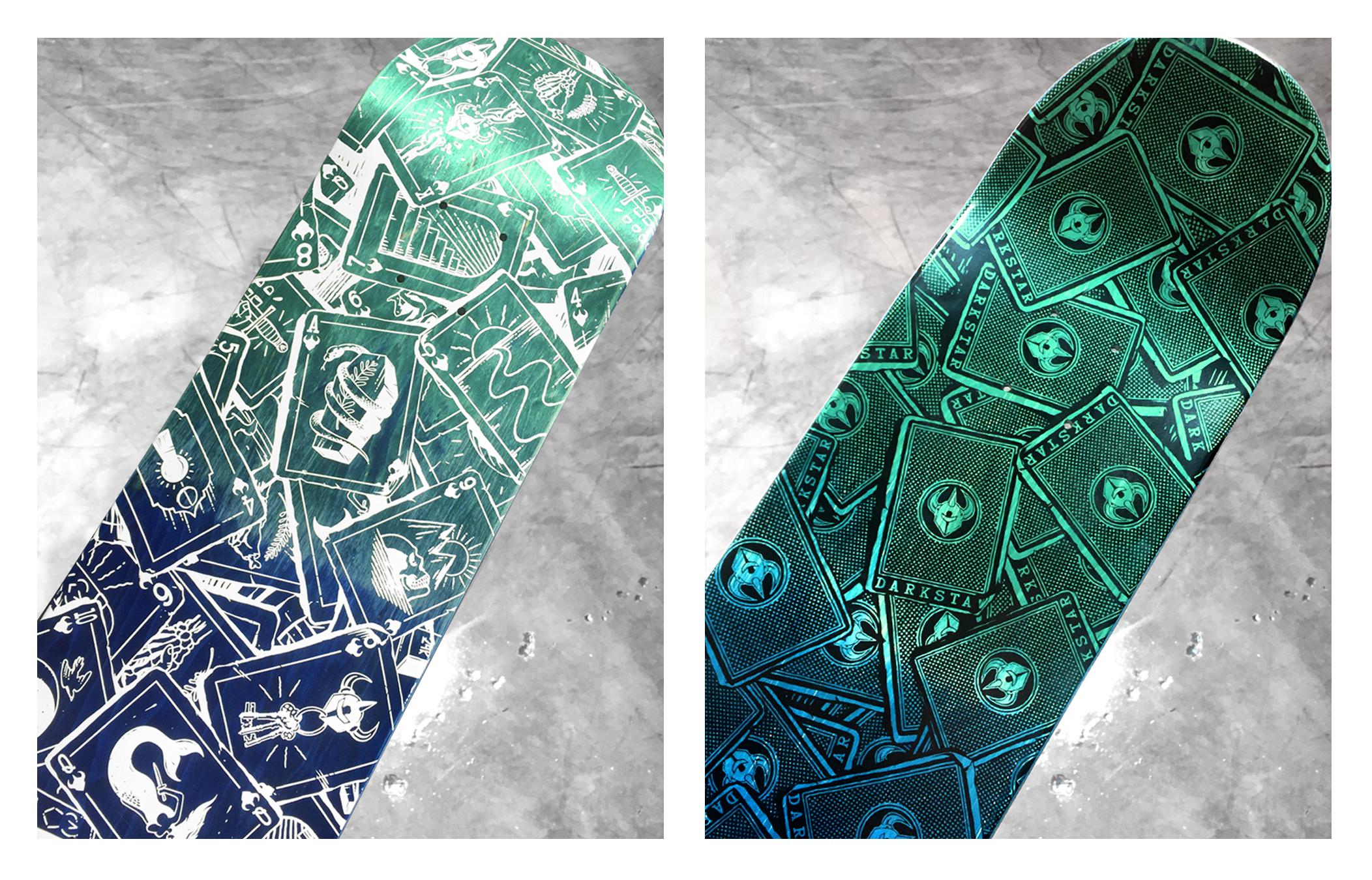 Darkstar Skateboards player deck