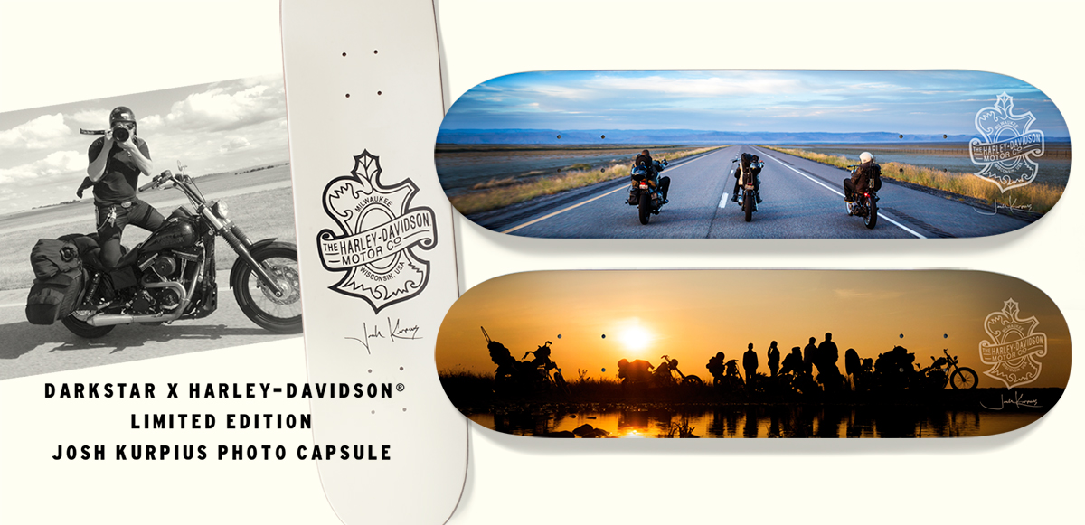 Darkstar x Harley-Davidson® Limited Edition Josh Kurpius photo capsule