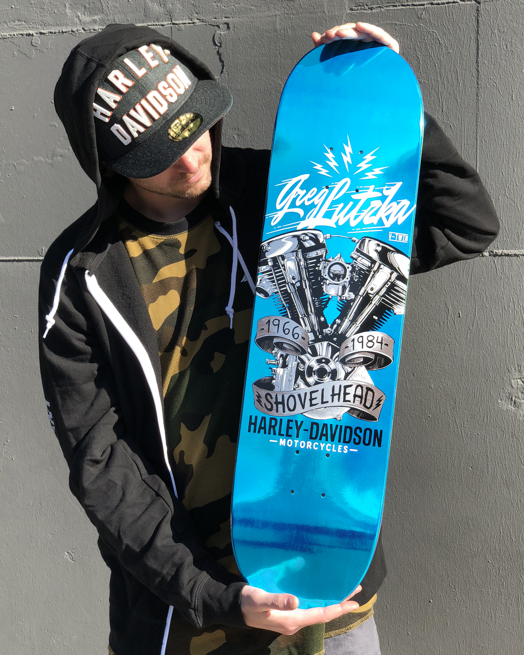Greg_lutzka_Darkstar_Skateboards_Harley_Davidson_chrome_deck