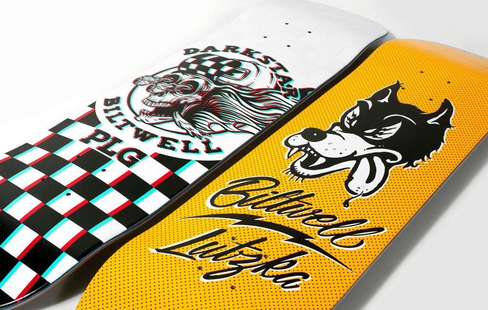 Darkstar Skateboards Summer 2019  Biltwell Lutzka PLG 1