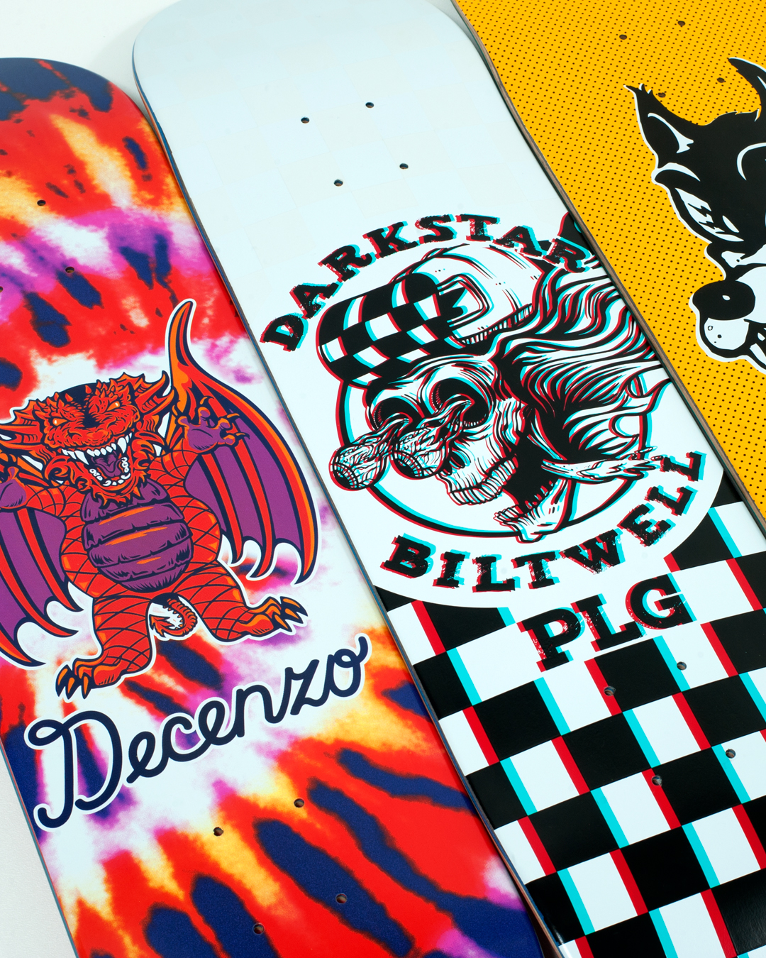 Darkstar Skateboards Summer 2019 Grizzly Biltwell all