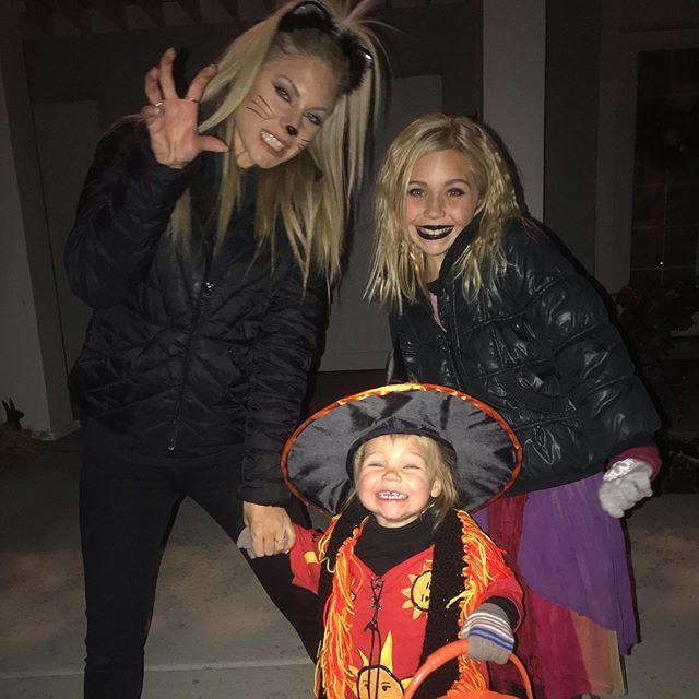 Happy Halloween from my girls.