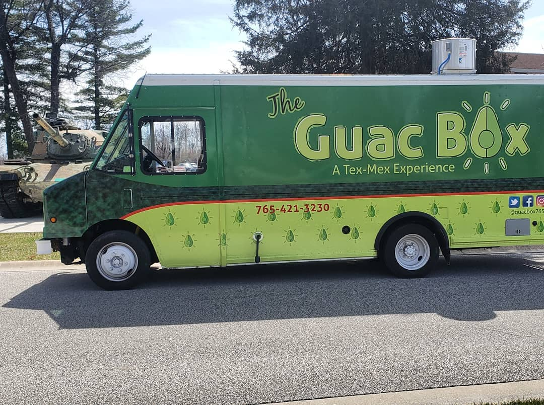 The Guac Box - Lafayette, IN's premier Tex-Mex food truck featuring tacos, nachos and fresh hand smashed guac will be set up outside of Carnahan Hall! Cash and Card AcceptedSAT 11AM-3PMSUN 12PM-4PM